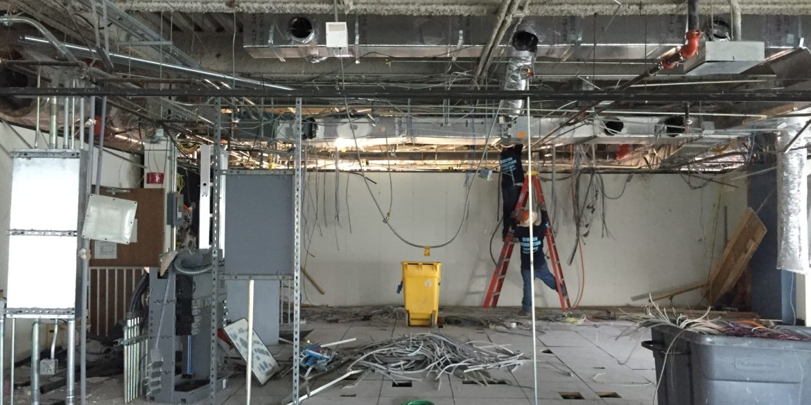 extensive in breaking services jubilee excavating which an hospital out there deconstruction concrete erdem interior tear the involved royal demolition cutting serivce structural was followed by strip